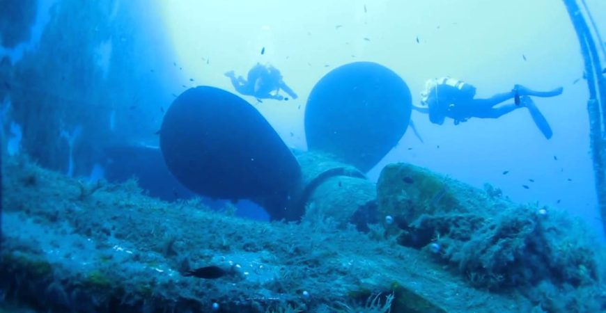 Zenobia – most famous wreck of Mediterranean sea