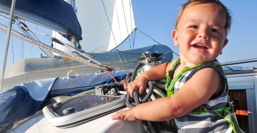 Jedrenje Egejskim morem sa bebom od jedanaest meseci